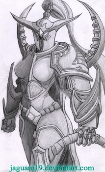 WoW - Maiev by jaguare19