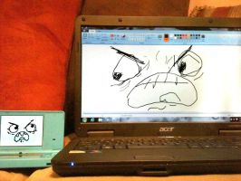 DSi VS Acer by PukingRainbow