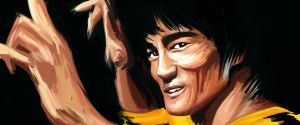 Bruce Lee by PaulGates