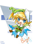 Link and Ezlo :3 by Coffeshere