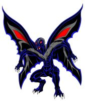 Mothman by kaijuverse