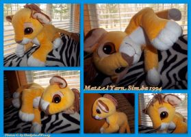 Mattel Yarn Simba 1994 by DoloAndElectrik