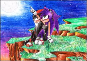Victoria and Shadow by Mariya14