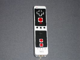 Custom Wii-mote front by Terryboy