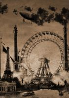 Paris SteamPunk by Vanolffen