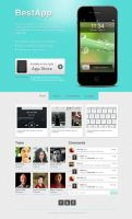 App Promote Template by andreafilisitosovna