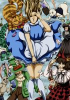 Alice in Wonderland by CrookedCat