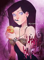 happy halloween by naelya