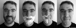 Shaving in 4 steps by oToupeira