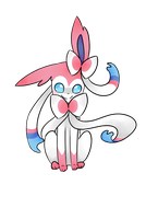 Sylveon by p-l-u-m-b-u-m