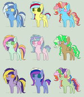 Pony adopts FOR FREE ONE LEFT CLOSED by ElementOfGaming