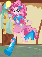 ::+Equestria Girls-Pinkie Pie+:: by Apple-Rings