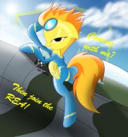 Spitfire.... Wants you to fly with her in the REA! by Spitshy