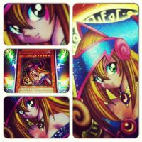 Dark Magician Girl MFC Collage by TheCardCollector