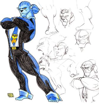 beast for x-men jam by MangaAngel