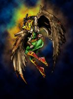Injustice: Gods among Us - Hawkgirl by viridislament