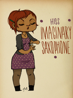 Imaginary Saxophone by MetMarfil