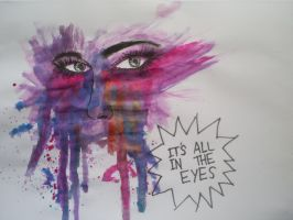 Its all in the eyes II by EatSleepDreamDesign