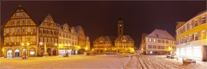Winter market place by kopfgeist79