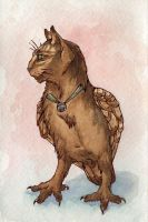 Owl cat by teriathanin