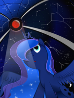Lunar Eclipse by flamevulture17