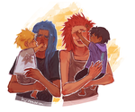 take two piles of trash and make them dads by hyamara