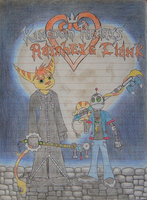KH Ratchet and Clank Title by RavinTheVampire