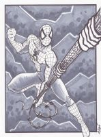 Spidey sketch 2 by phymns