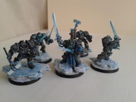 Frost Knights by WoodlandHermit