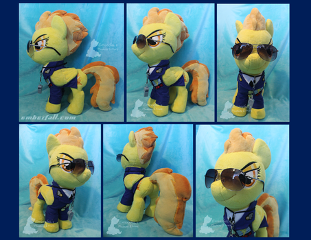 16in Spitfire with Uniform by EmberfallPlush