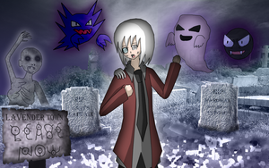 Ostinato in Lavender Town by AliRose-Art