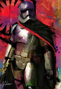 Captain Phasma by j2Artist
