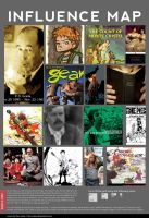 Influence Map - Lars Brown by larsony