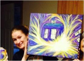 Tardis Explosion and Me by Lillydew