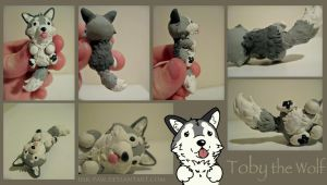 Toby the Wolf by Ink--It