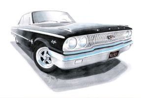 1963 Galaxie by dieselart