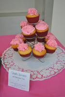 Pink Cupcakes by serendipitysweets