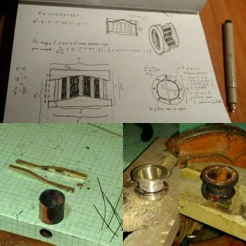 Work behind first atempt of a ring by GiovaneGiorno