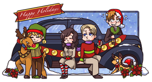 Happy Holidays! by spiffychicken