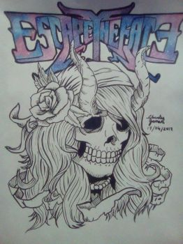 Escape the Fate Fanart (WiP) by Lawliets-Minion