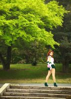 Sailor Jupiter - tree Ki by foux86