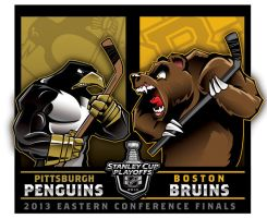 2013 NHL Eastern Conference Finals... by Epoole88