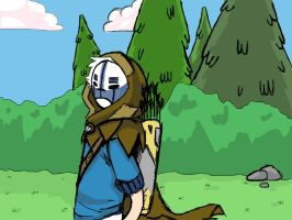 Clyde the Wanderer by AskShiloh-The-Demon