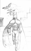 Batman continues by ThereminStudio