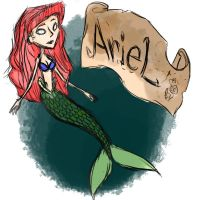 Ariel Don't Starve by Laughing-SkullZ