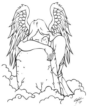 Angel Tattoo Art Flash
