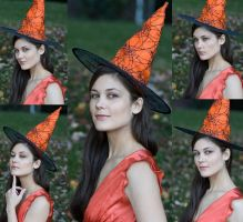 Orange Witch by eyefeather-stock