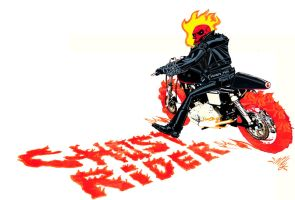 Ghost Rider by mikey-c