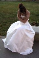 White Gown Terra 48 by Falln-Stock