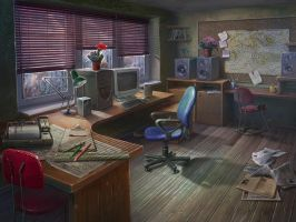 office in the weather station by Vasilisa-boo